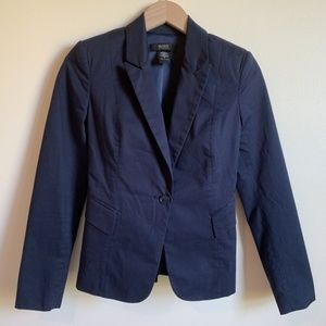 Body by Victoria Blazer Career Navy Blue Size 0